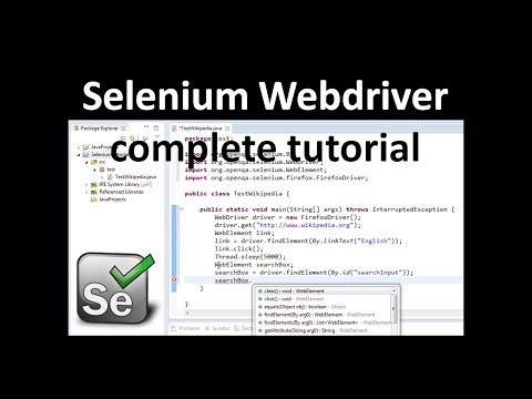 Selenium Tutorial for Beginner | Selenium WebDriver tutorial | Selenium tutorial Java thumbnail