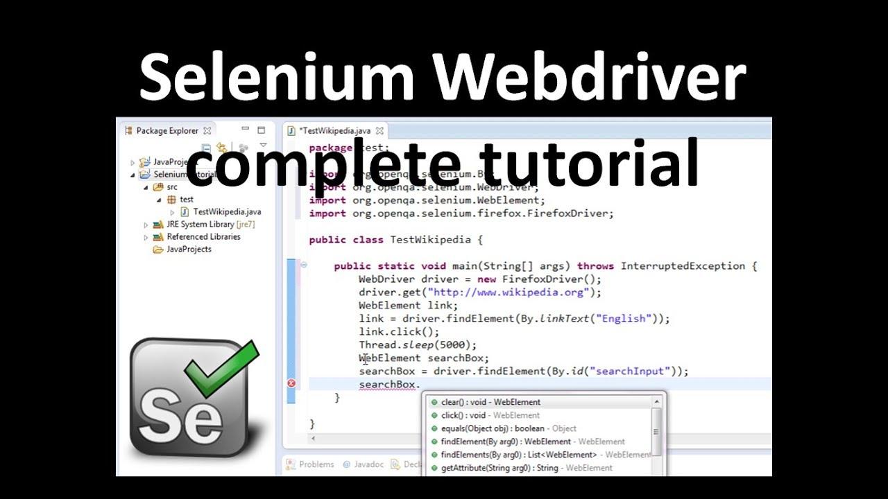 Selenium WebDriver Quiz Part 4 - Software Development and