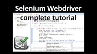 Selenium Tutorial 2 - Selenium WebDriver Training Selenium Training