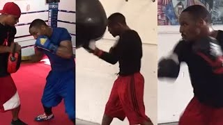 DEVON ALEXANDER PUTTING IN SERIOUS WORK AT CAMP CUNNINGHAM; EAGER TO PROVE HE