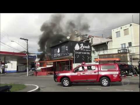 Posto de gasolina explode na zona norte de São Paulo