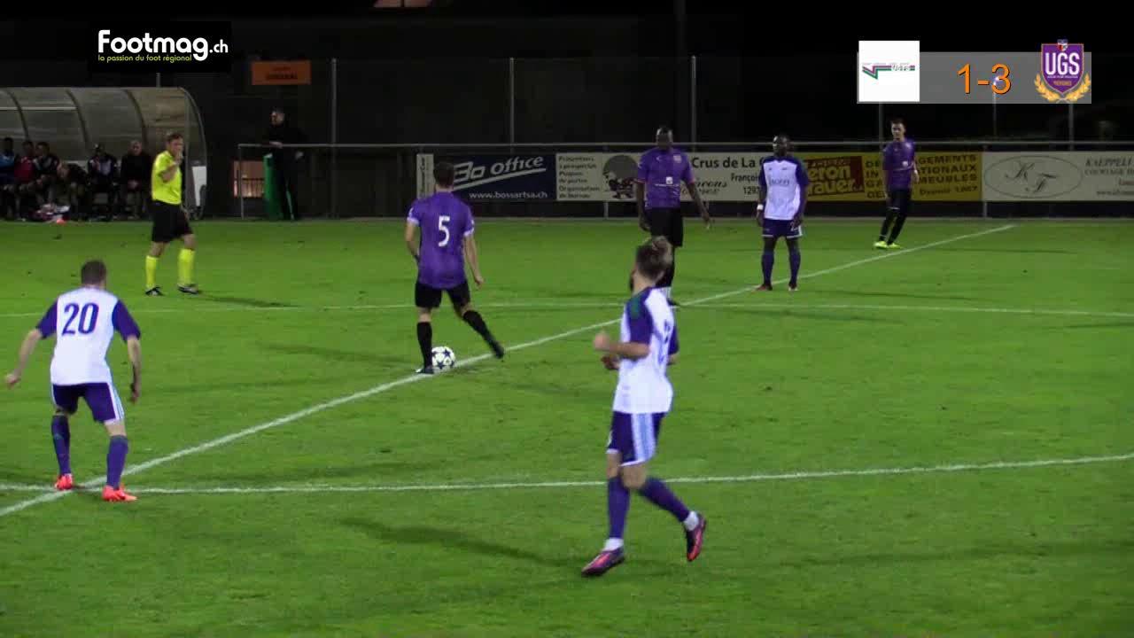 US Terre Sainte FC UGS Genève, les highlights - YouTube