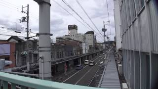 中央歩道橋から 兵庫県豊岡市