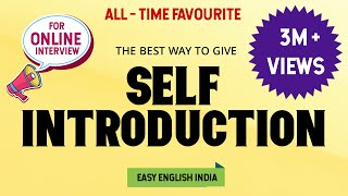 Self Introduction || Easy English India