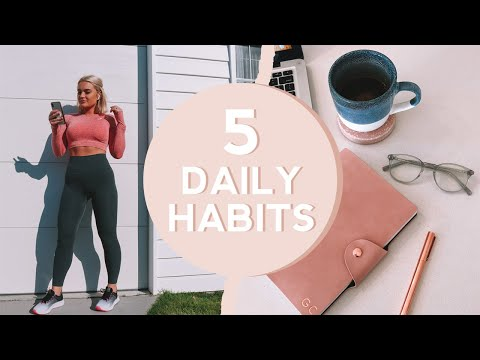 Daily Productivity and Happiness // MY 5 MUST DO HABITS