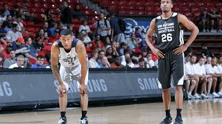 Summer League: San Antonio Spurs vs Utah Jazz