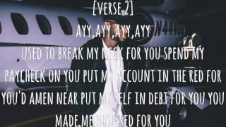 Bryson Tiller - Run Me Dry ( Lyric Video ) True To Self Album 2017