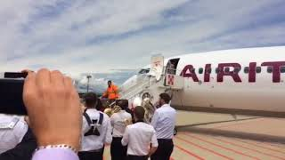737MAX Air Italy a Malpensa