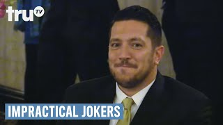Video Impractical Jokers - Best Man Speech Goes Horribly Wrong (Punishment) | truTV download MP3, 3GP, MP4, WEBM, AVI, FLV Juni 2018