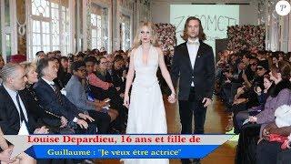 Louise Depardieu, 16 ans et fille de Guillaume :