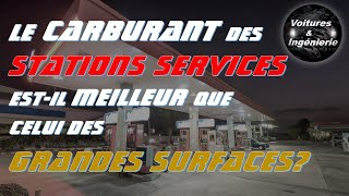 CARBURANT : STATIONS SERVICES vs GRANDES SURFACES, QUE CHOISIR?