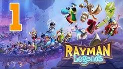 Let´s Play Rayman Legends Deutsch - Part 1 - Gameplay Walkthrough