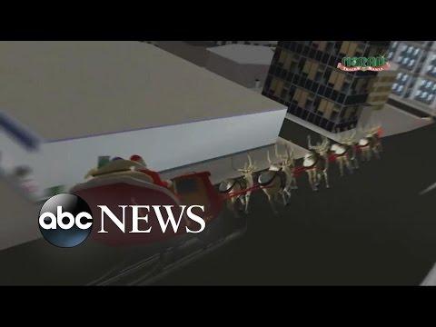 NORAD Tracks Santa's Movement Around the World