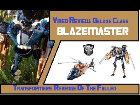 Transformers ROTF Deluxe class Blazemaster en Español