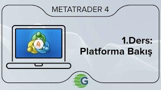 GCM MetaTrader 4 - 1.Ders: Platforma Bakış