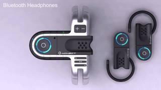 Olivier Demangel - futuristic watches - Konect USB watch - 720p