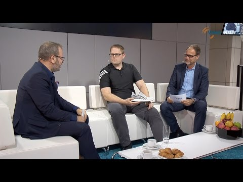 K 2016 I Morning Show I Ready for Industrie 4.0 I Dr. Chris Holmes, Adidas Speed Factory