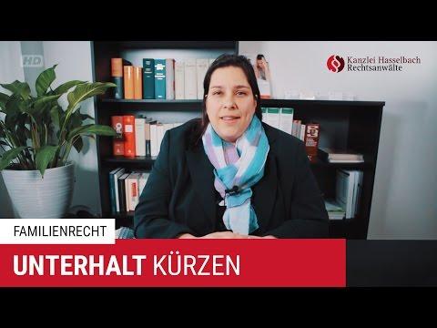 Unterhalt kürzen mit Sonderausgaben – Kanzlei Hasselbach