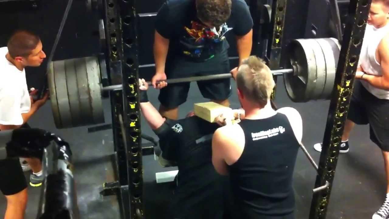 950 lb. reverse band 2 board bench press. - youtube