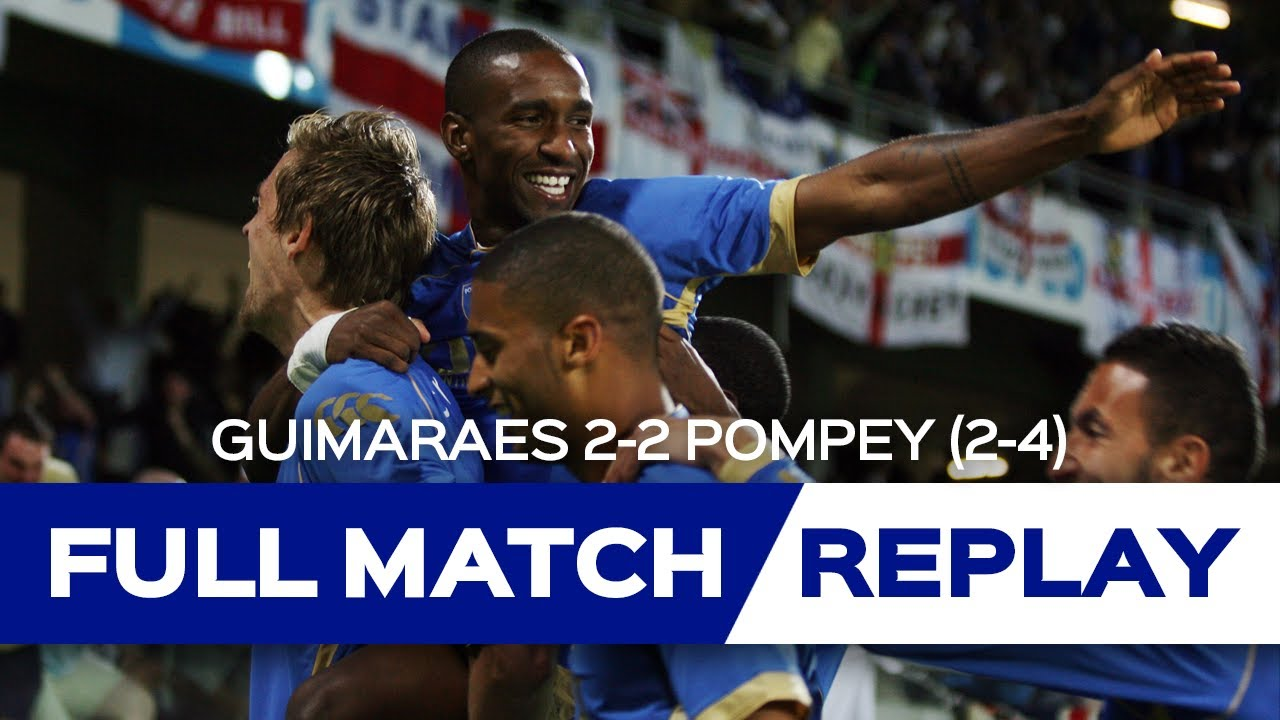 Full match replay powered by Utilita | Guimaraes vs Portsmouth (UEFA Cup)