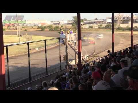IMCA Sport Mod Heats Dawson County Speedway 8 3 14