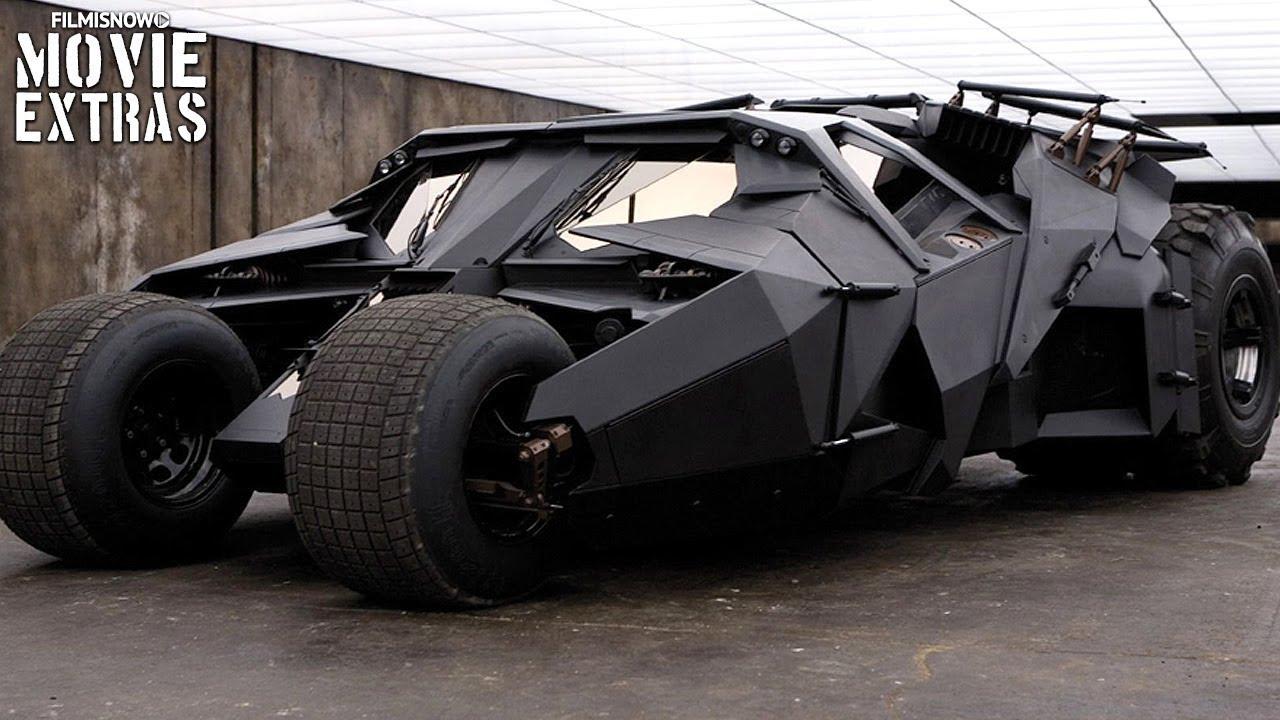 "The Dark Knight Trilogy ""Creating Batmobile"" Featurette (2005/2012) -  YouTube"