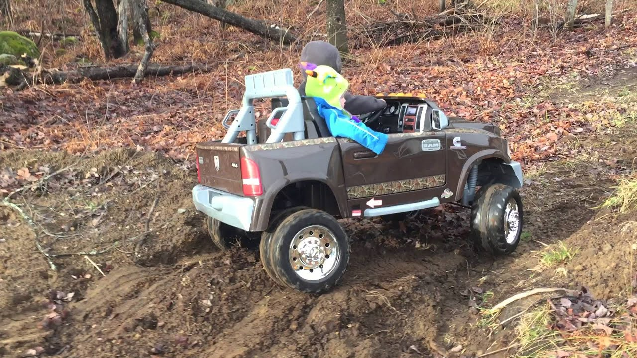 power wheels dodge 3500 off road test youtube. Black Bedroom Furniture Sets. Home Design Ideas