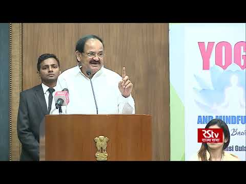 Yoga is a gift to the world from India, says Vice President