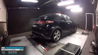 Reprogrammation Moteur Honda Civic 2.2 ICTDI 140hp @ 189hp par BR-Performance
