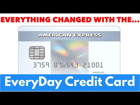 American Express EveryDay Credit Card Changed Everything