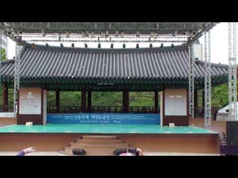 Namsangol Hanok Village Taekwondo Demo