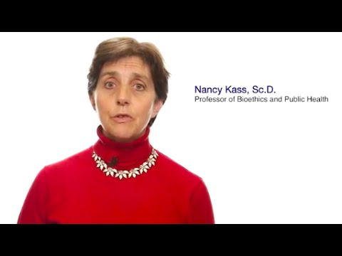 #TomorrowsDiscoveries: Defining Ethics for Public Health – Dr. Nancy Kass