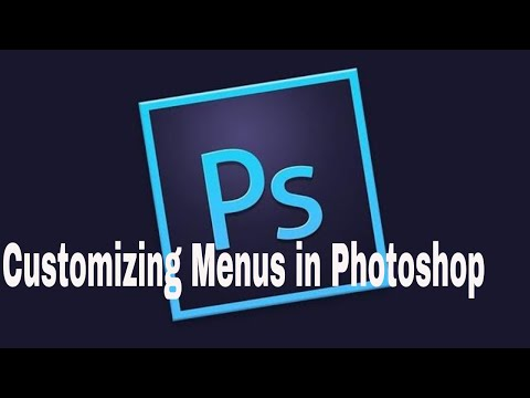 How To Customize Menus in Photoshop|Adobe Photoshop Tutorial thumbnail