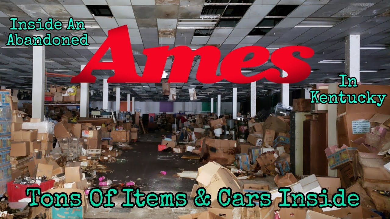 Download Inside An Abandoned Ames In Kentucky *Tons Of Items & Cars Inside*