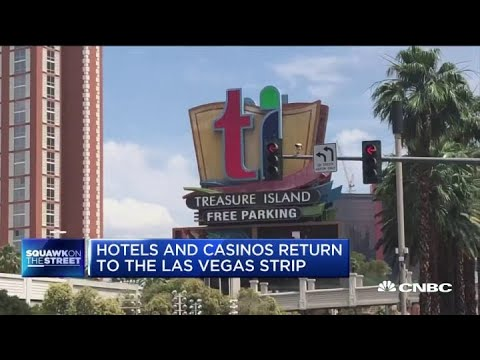 Hotels And Casinos Begin Reopening On The Las Vegas Strip