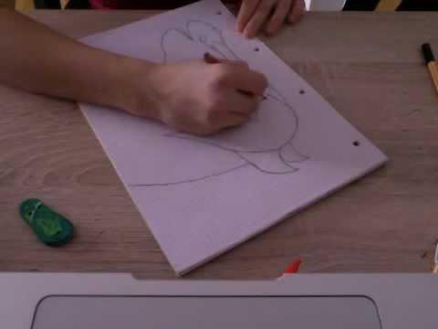 Spirit Der Wilde Mustang Zeichnen