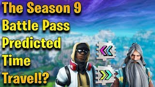 Season 10 SECRETS Hidden in the BATTLE PASS!? - Fortnite Season 9 Breakdown