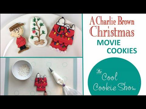 Charlie Brown Christmas Movie Cookies Youtube