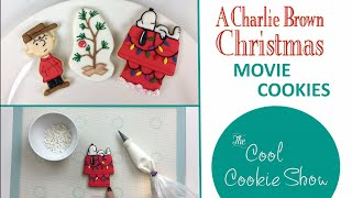 Charlie Brown Christmas Movie Cookies