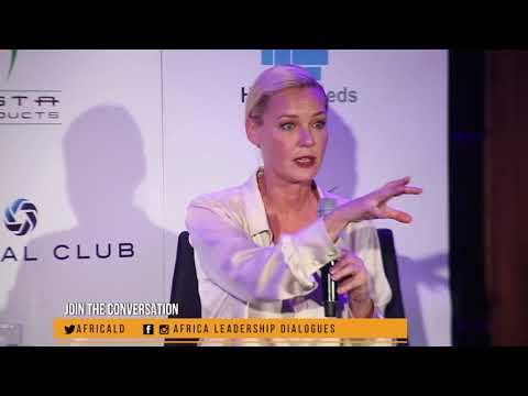 Africa Leadership Dialogues | Actor Connie Nielsen in conversation with Julie Gichuru
