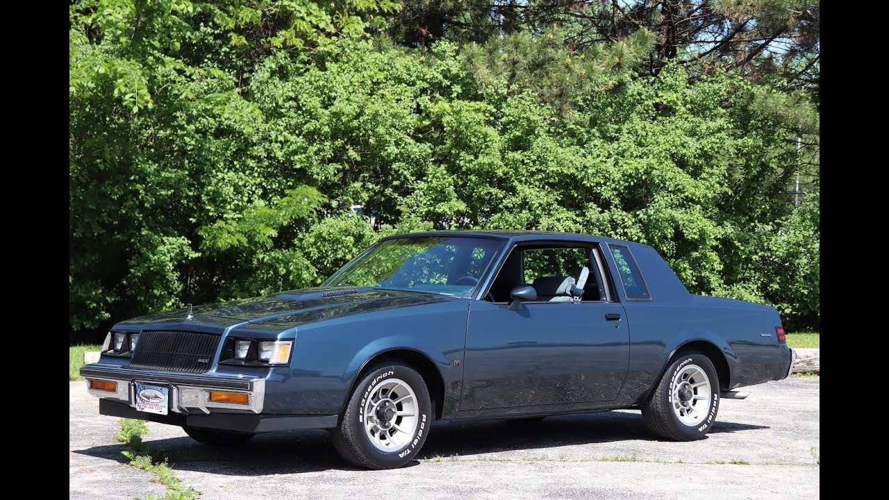 Buick Regal T Type >> 1987 Buick Regal Turbo T For Sale