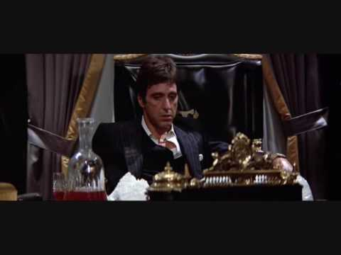 Tony Montana at home