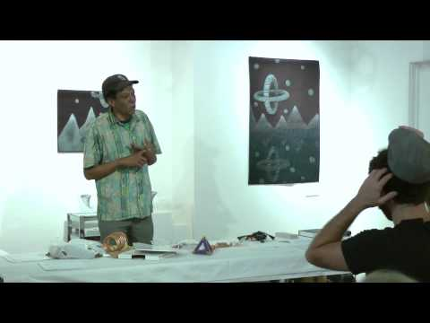 Lester Loving at Gallery 72, Omaha, June 2012