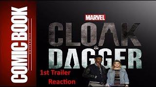 Reaction - Cloak & Dagger 1st Trailer | COMIC BOOK UNIVERSITY