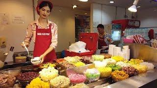Du lịch Thái Lan tự túc|Ăn trưa ngon rẻ tại sân bay Suvarnabhumi Thái Lan