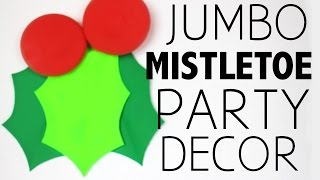 Mistletoe Holiday Party Decor - HGTV Handmade