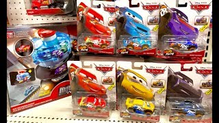 Disney Cars Toy Hunt - QUEST to find Lightning McQueen XTREME Racers - NEW Monster Jam & Hot Wheels
