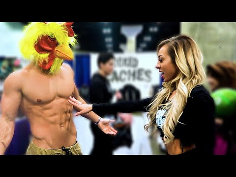 Connor Murphy Takes Over the LA Fit Expo (Epic Reactions)