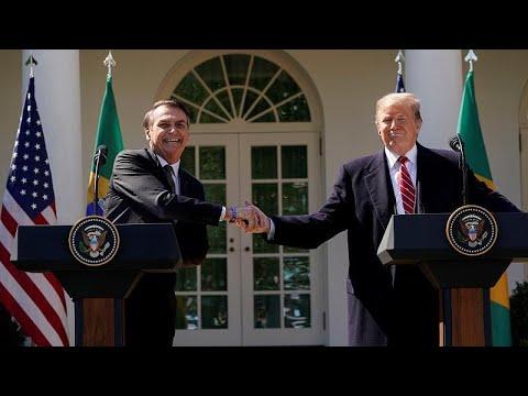 Trump sugere Brasil para membro da NATO