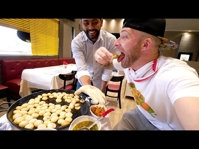 The ULTIMATE PANI PURI CHALLENGE!! Indian Street Food in Miami, Florida
